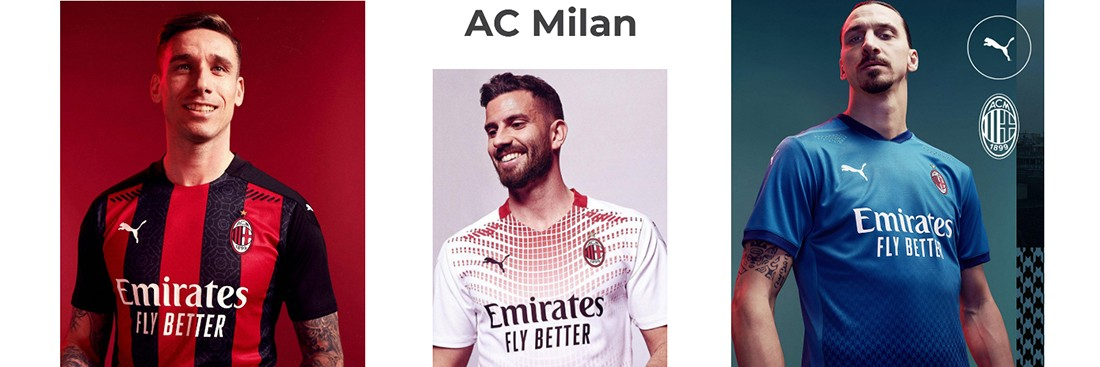 camiseta AC Milan replica