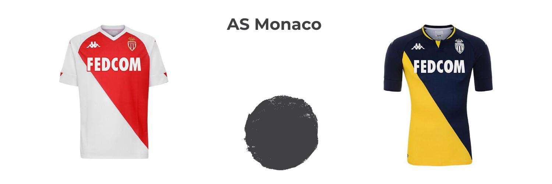 camiseta AS Monaco replica
