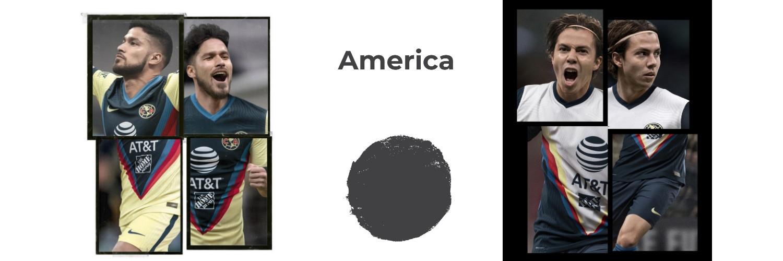 camiseta America replica