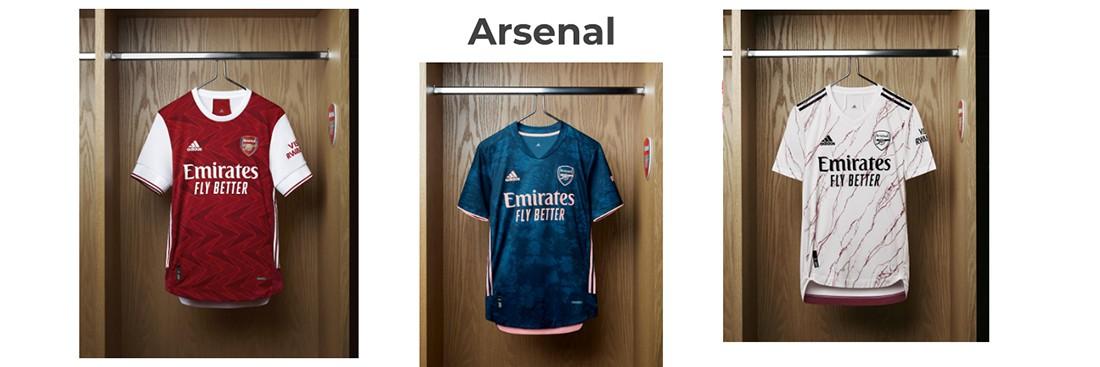 camiseta Arsenal replica