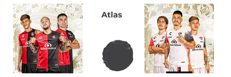 camiseta Atlas replica