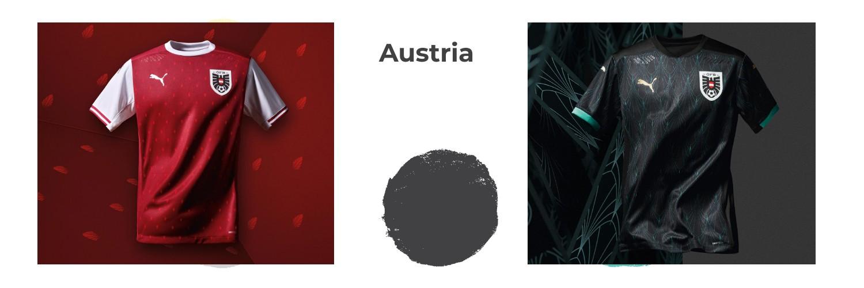 camiseta Austria replica