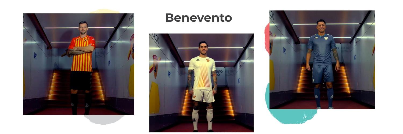 camiseta Benevento replica