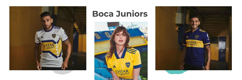camiseta Boca Juniors replica