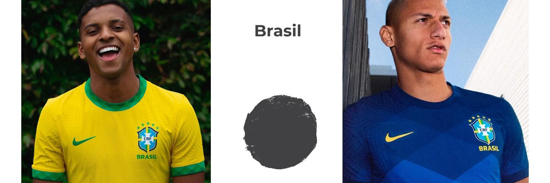 camiseta Brasil replica