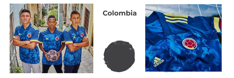 camiseta Colombia replica
