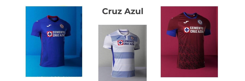 camiseta Cruz Azul replica
