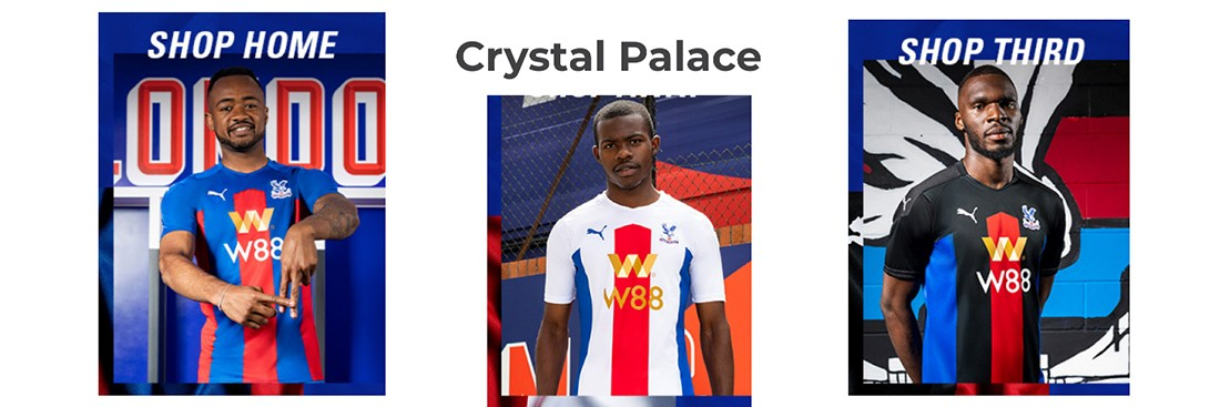 camiseta Crystal Palace replica