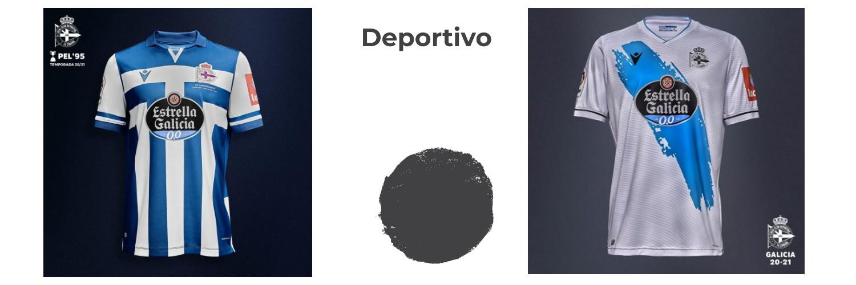 camiseta Deportivo de La Coruna replica