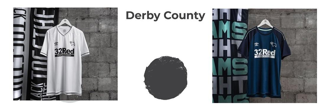 camiseta Derby County replica