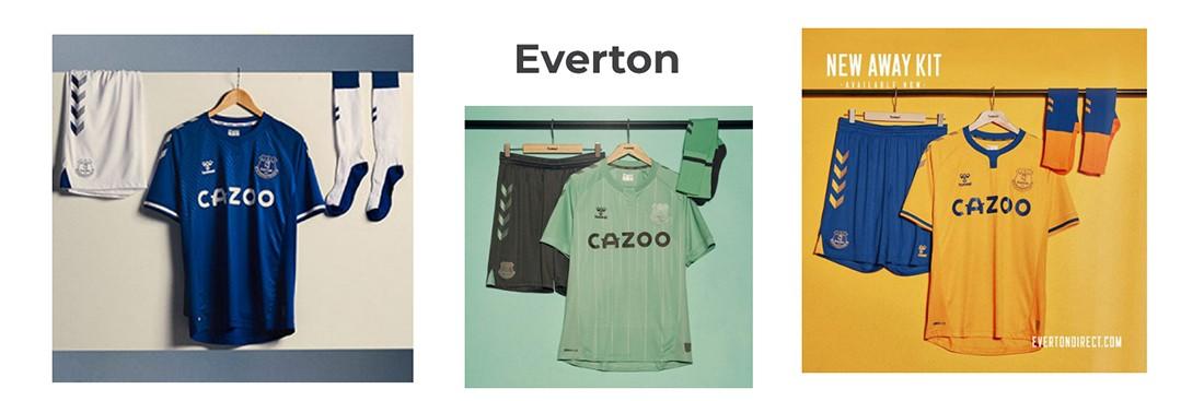 camiseta Everton replica