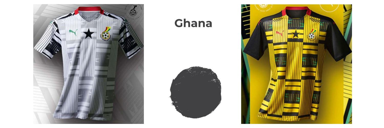 camiseta Ghana replica
