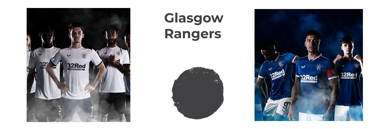 camiseta Glasgow Rangers replica