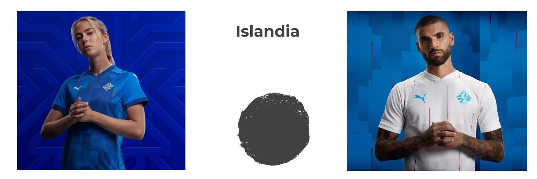 camiseta Islandia replica