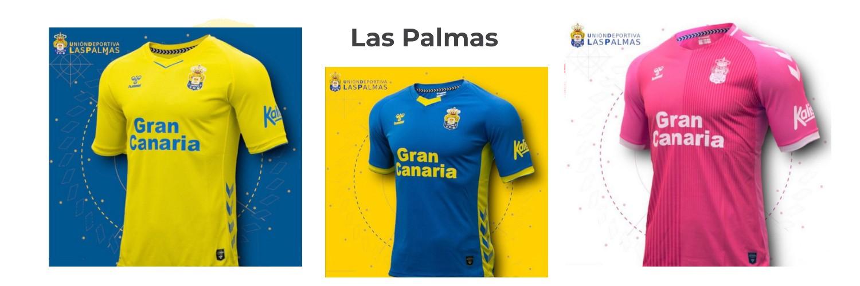 camiseta Las Palmas replica