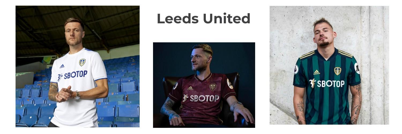 camiseta Leeds United replica