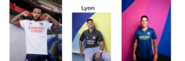 camiseta Lyon replica