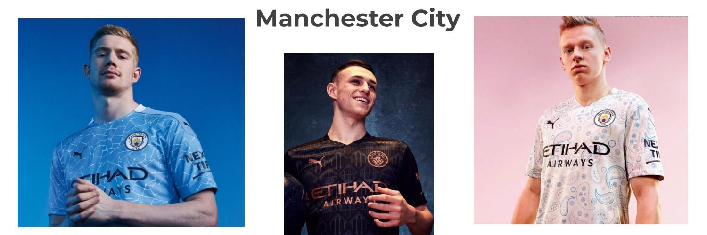 camiseta Manchester City replica