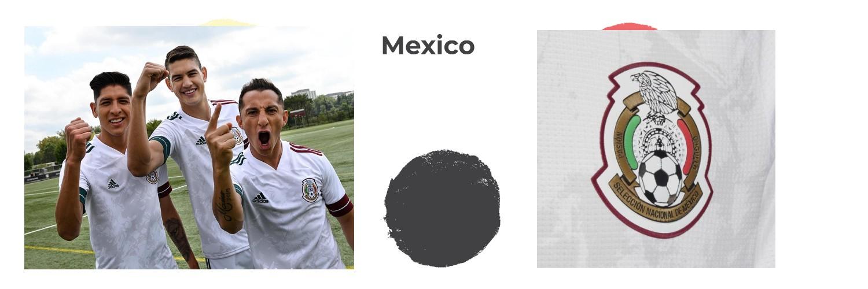 camiseta Mexico replica
