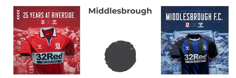 camiseta Middlesbrough replica