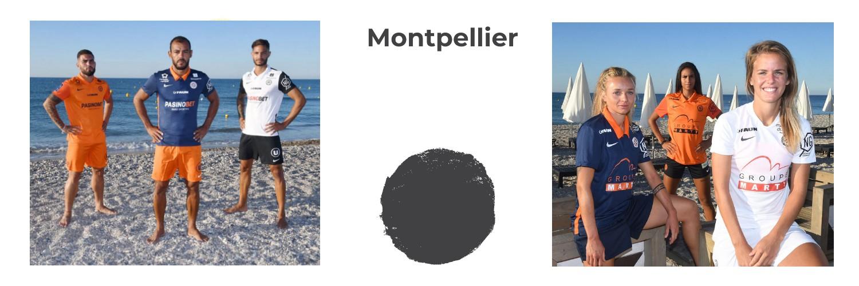 camiseta Montpellier replica
