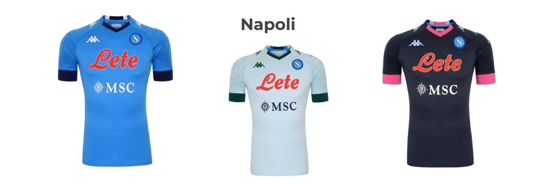 camiseta Napoli replica