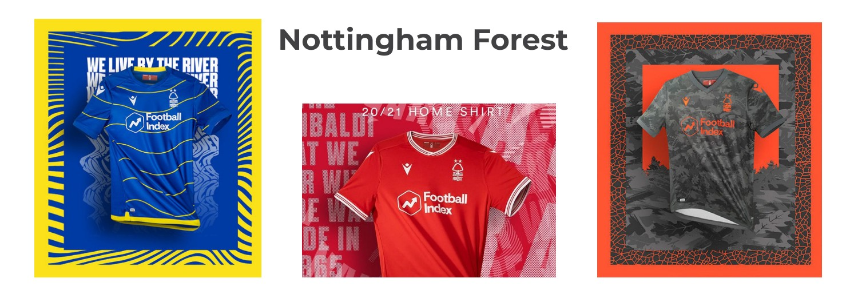 camiseta Nottingham Forest replica