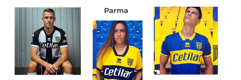 camiseta Parma replica