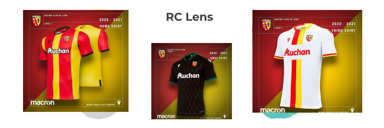 camiseta RC Lens replica