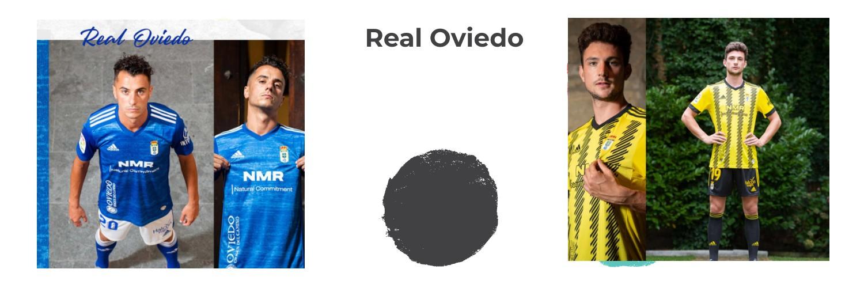 camiseta Real Oviedo replica