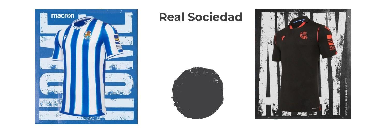 camiseta Real Sociedad replica