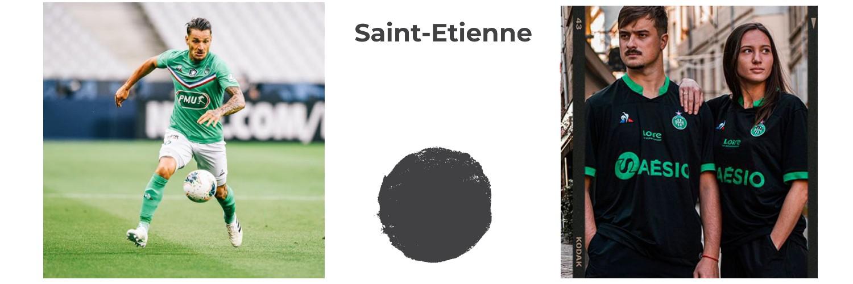 camiseta Saint-Etienne replica