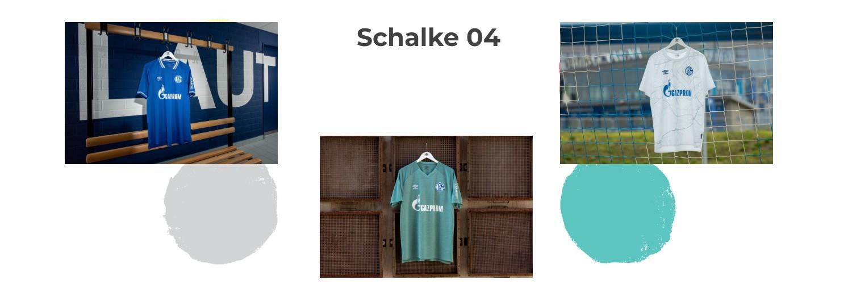 camiseta Schalke 04 replica