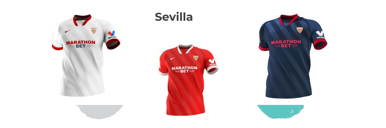 camiseta Sevilla replica