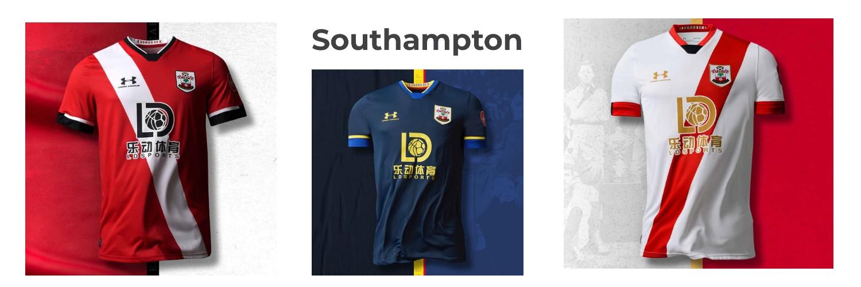 camiseta Southampton replica