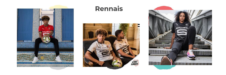 camiseta Stade Rennais replica