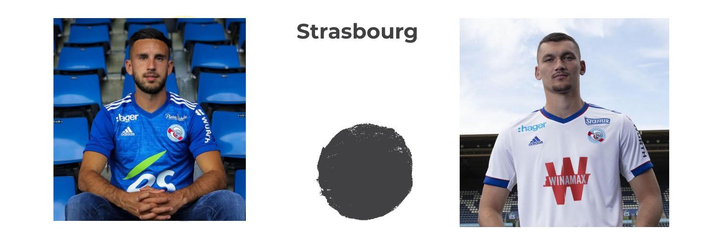 camiseta Strasbourg replica