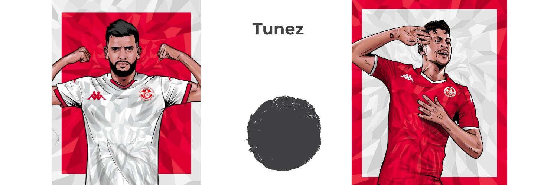 camiseta Tunez replica
