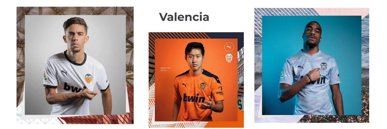 camiseta Valencia replica