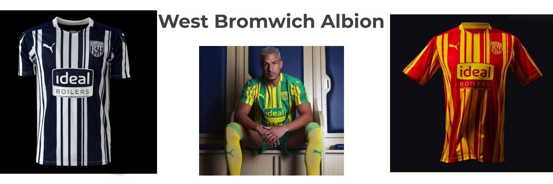 camiseta West Bromwich Albion replica