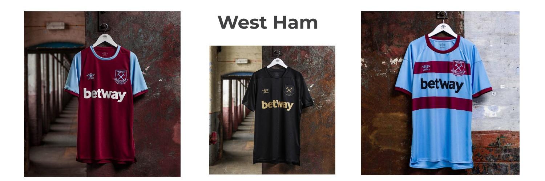 camiseta West Ham replica