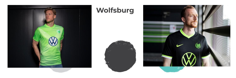camiseta Wolfsburg replica