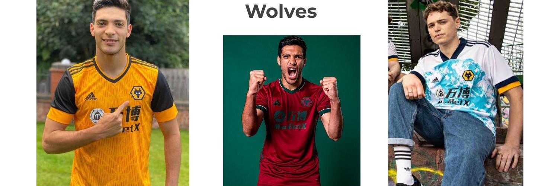 camiseta Wolves replica